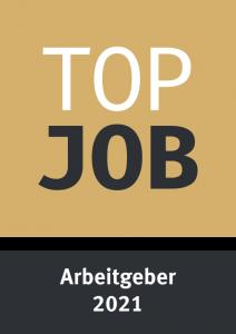 Top Job 2021 Siegel Arbeitgeber